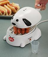 Hero the Hot Dog Steamer