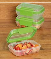 SnapLock Food Containers - Set of 3