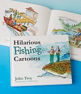 Hilarious Fishing Cartoons Book