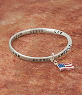 God Bless America Bangle