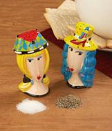Let's Go Shopping Salt and Pepper Shakers