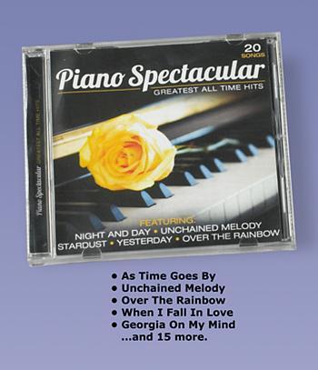 Piano Spectacular CD