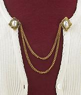Vintage-Style Sweater Clip