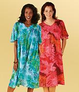 Coral/Fuchsia Patio Dress - Missy