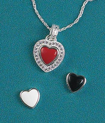 3-In-1 Heart Pendant