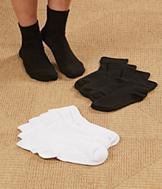 3 Pair Women's Bamboo Socks - White