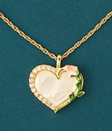 Daughter Heart Pendant