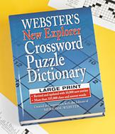 Large Print Crossword Puzzle Dictionary