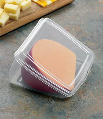 Wedge-Shaped Cheese Keeper