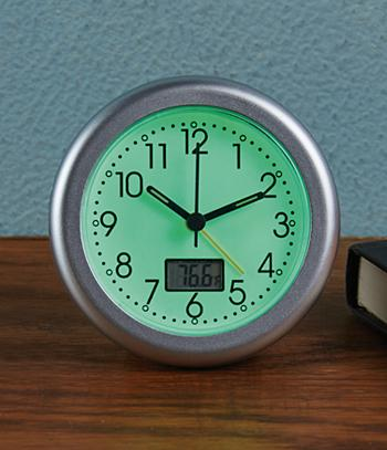 Glow-in-the-Dark Alarm Clock