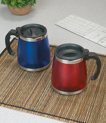 Insulated Travel Mug - Red
