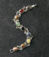 Semiprecious Link Bracelet