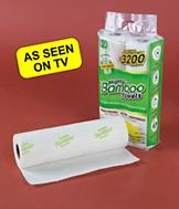 Mighty Bamboo Towels - 2-Pack