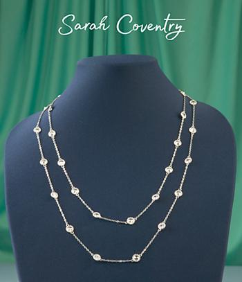 Sarah Coventry Illusion Necklace