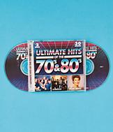Ultimate Hits Of The '70s and '80s - 2-CD Set