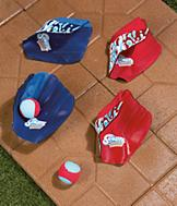 EZ Gloves and Ball - Blue
