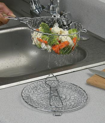 Collapsible Basket Strainer