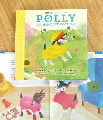 Polly and Her Duck Costume Book