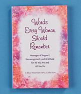 Words Every Woman Should Remember Book