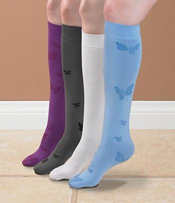 Butterfly Knee Hi's - Blue