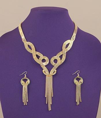 Tassel Chain Jewelry Set