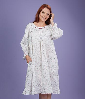 Cotton Nightgown - Small