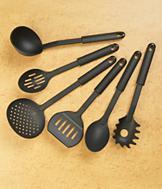 Nonscratch Kitchen Utensils - 6-Pc. Set