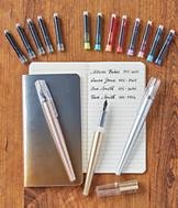 Fountain Pens with Journal Set