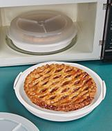 Microwave Pie Container