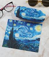Van Gogh's The Starry Night  Eyeglass Case