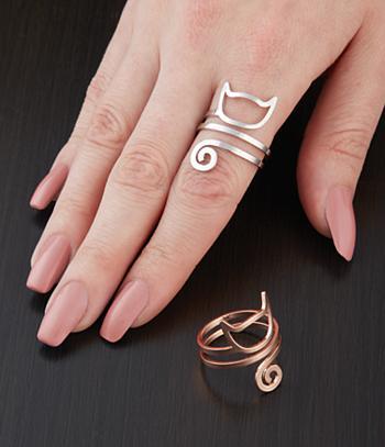 Cat Rings - Set of 2