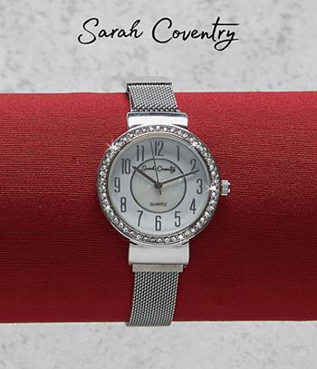Sarah Coventry Magnetic Mesh Watch