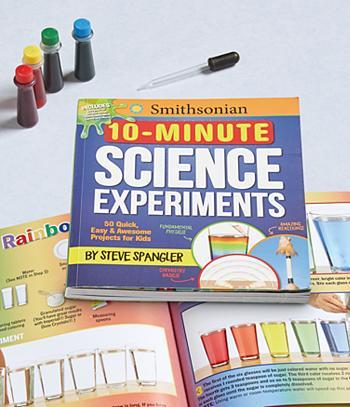 10-Minute Science Experiments - Steve Spangler
