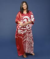 Red and White Caftan