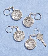 Lucky Coin Key Ring - Daughter