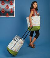 Rolling Cooler Tote - Anchor