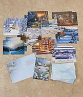 Cabin-Themed Christmas Cards - Set of 20