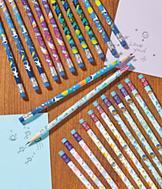 Mermaid Pencils - Set of 12