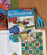 First-Time Quiltmaking Book