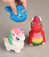 Squishies Toy Figures - Set of 3