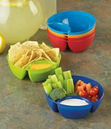 Chip and Dip Bowls - Set of 6