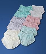 Set of 12 Cotton Panties - Size 6