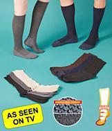 35 Degree Below Dress Socks/Women's - 3 Pairs