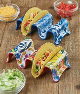 Taco Stand - Red Multicolor