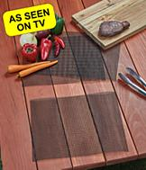 FlavorFlow Mesh Grill and Bake Mats - Set of 3