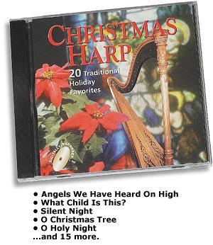 Christmas Harp CD