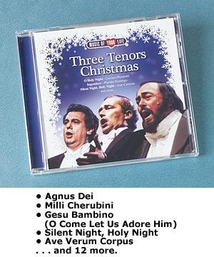 Three Tenors Christmas CD