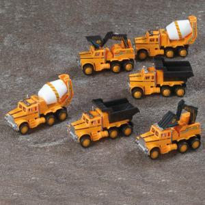 Construction Trucks - Set of 6