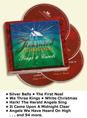 101 Treasured Christmas Songs and Carols - 4-CD Set