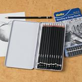 Helix Sketching and Design Pencils - Set of 12